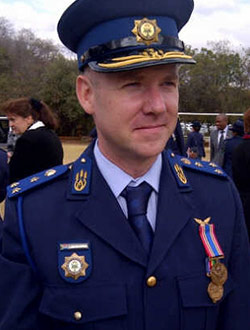 In Ceremonial Dress - SAPS